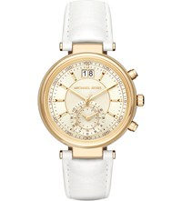 Michael Kors 2528 Gold Plated Stainless Steel Watch