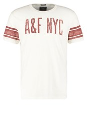 Abercrombie And Fitch Print Tshirt White
