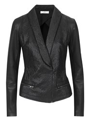Aaiko Biker Jacket Black