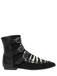 Isabel Marant 10Mm Rowi Pony Skin And Suede Boots