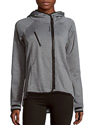 Reebok Prodigy Hooded Jacket Charcoal