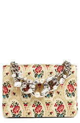 Miu Miu 'Evening' Floral Mogador Shoulder Bag