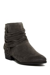 Vince Camuto Saree Fringe Bootie Gray