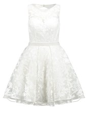 Luxuar Fashion Cocktail Dress Party Dress Ivory Off White