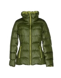 Max And Co. Down Jackets Green