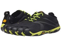 Vibram Fivefingers V Run Black Yellow Men's Shoes Gray