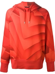 Christopher Kane Pages Print Sweatshirt Red