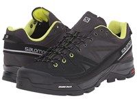Salomon X Alp Ltr Asphalt Black Gecko Green Men's Shoes