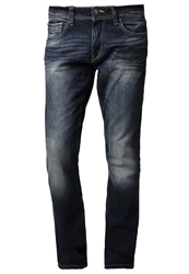 Tom Tailor Straight Leg Jeans Mid Stone Wash Denim Blue
