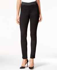 Inc International Concepts Curvy Jeggings Only At Macy's Black Denim