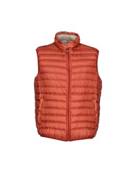 Geospirit Coats And Jackets Down Jackets Men Brick Red