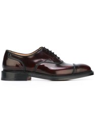 Church's 'Ongar' Derby Shoes Pink Purple
