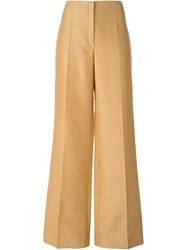 Nina Ricci Wide Leg Trousers Brown