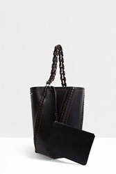 Proenza Schouler Large Whipstitch Bucket Bag Black