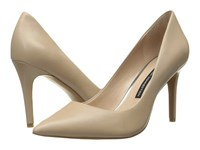 French Connection Rosalie Almost Nude Sheep Nappa Women's Shoes Beige