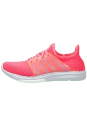 Adidas Performance Cc Sonic Boost Cushioned Running Shoes Flash Red Frozen Green Coral