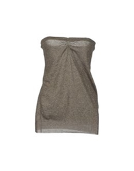 Jucca Tube Tops Grey