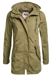 Superdry Rookie Military Parka Green