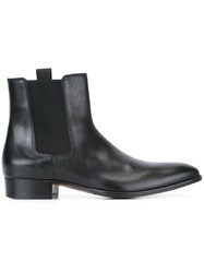 Marc Jacobs Elasticated Panel Ankle Boots Black