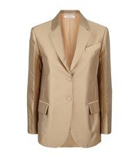 Nina Ricci Mikado Tailored Blazer Female Beige