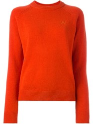 Wood Wood 'Karla' Pullover Red