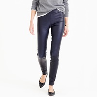 J.Crew Pre Order Petite Collection Leather Leggings