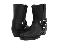 Frye Harness 8R W Black Leather Women's Boots