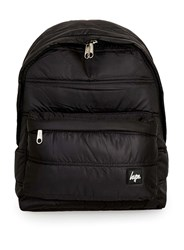 Topman Hype Black Quilted Backpack