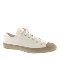 J.Crew The Hill Side Natural Canvas Sneakers