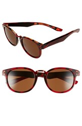 Women's Nike 'Achieve' 52Mm Sunglasses Red Tortoise