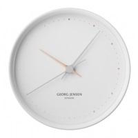 Georg Jensen Hk Clock White Large Clocks Decoration Finnish Design Shop