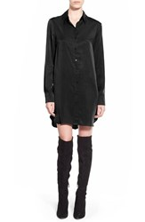 Women's Wayf Button Front Shirtdress Black