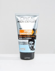 L'oreal Paris Men Expert Skin And Stubble Purifying Face Wash 150Ml Multi