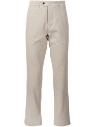 Officine Generale Chino Trousers Nude And Neutrals