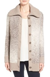 Women's Nordstrom Collection Wool Blend Sweater Jacket