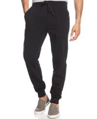 Ring Of Fire Racing Stripe Jogger Pants Black