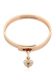 Juicy Couture Embellished Heart Charm Bracelet