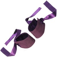 Lelo Etherea Silk Cuffs Purple