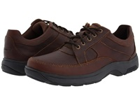 Dunham Midland Oxford Brown Polished Leather Men's Lace Up Casual Shoes