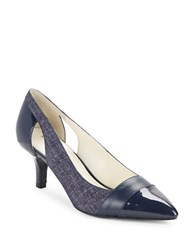 Anne Klein First Class Pumps Navy Blue