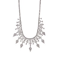 Fallon Women's Monarch Bib Necklace No Color
