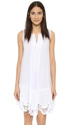 Red Carter Splice And Dice Sundress White