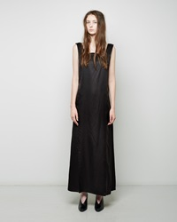 Maison Martin Margiela Fluid Satin Dress Black