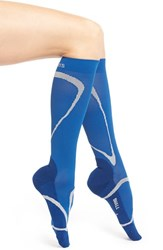 Women's Insignia By Sigvaris 'Performance' Compression Knee High Socks Blue
