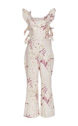 Zimmermann Winsome Ruffled Jumpsuit Floral