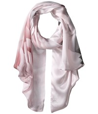 Ted Baker Maita Porcelain Rose Long Scarf Nude Pink Scarves