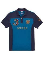 Joules Latino Classic Fit Polo Shirt Dark Teal