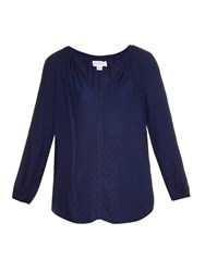 Velvet By Graham And Spencer Alissa Jacquard Blouse