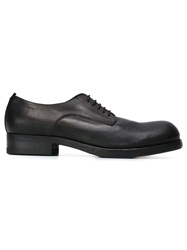 Pantanetti Faded Colour Derby Shoes Black