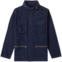 Folk Field Jacket Blue